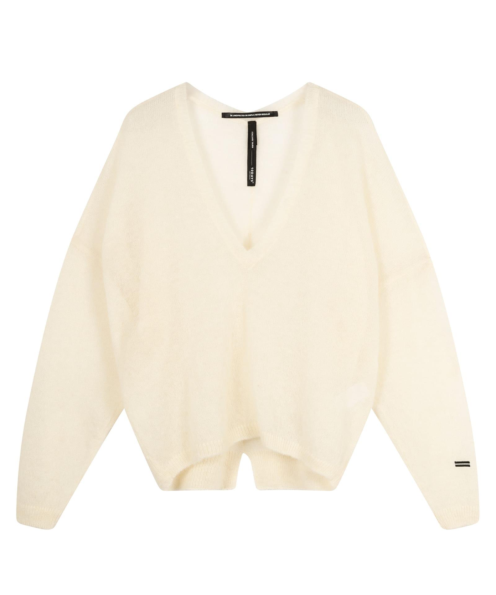 10 Days Thin Sweater V-Neck